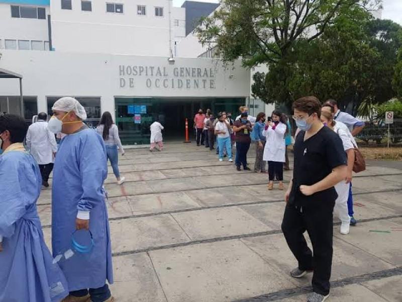 Roban bebé del hospital de Zoquipan; activan código rojo