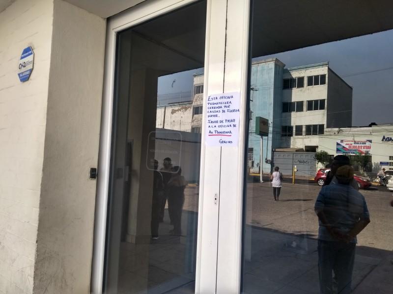 Roban oficina de #CFE durante fin de semana