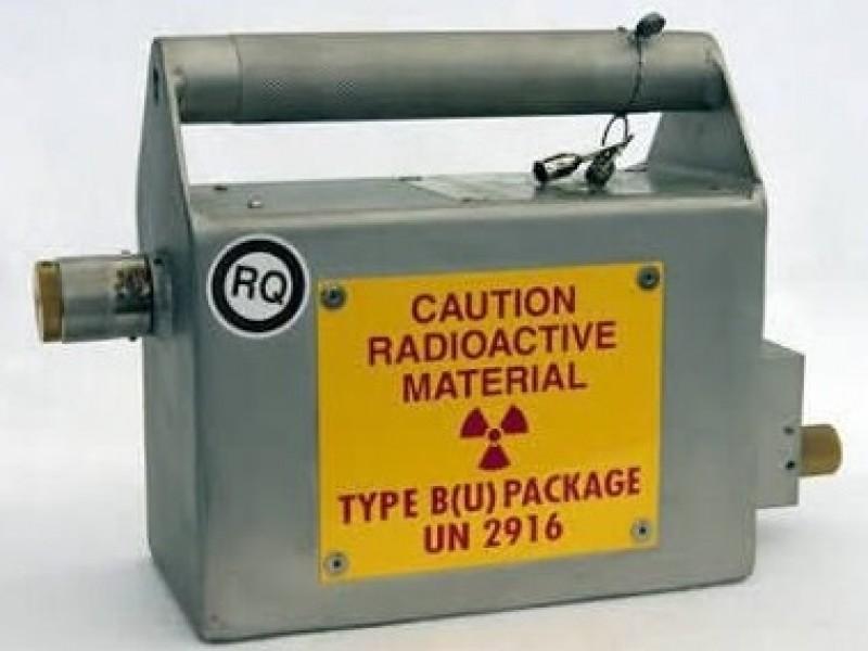 Roban material radioactivo