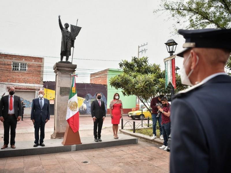 Roberto Sosa Pichardo encabeza ceremonias para conmemoración la Independencia
