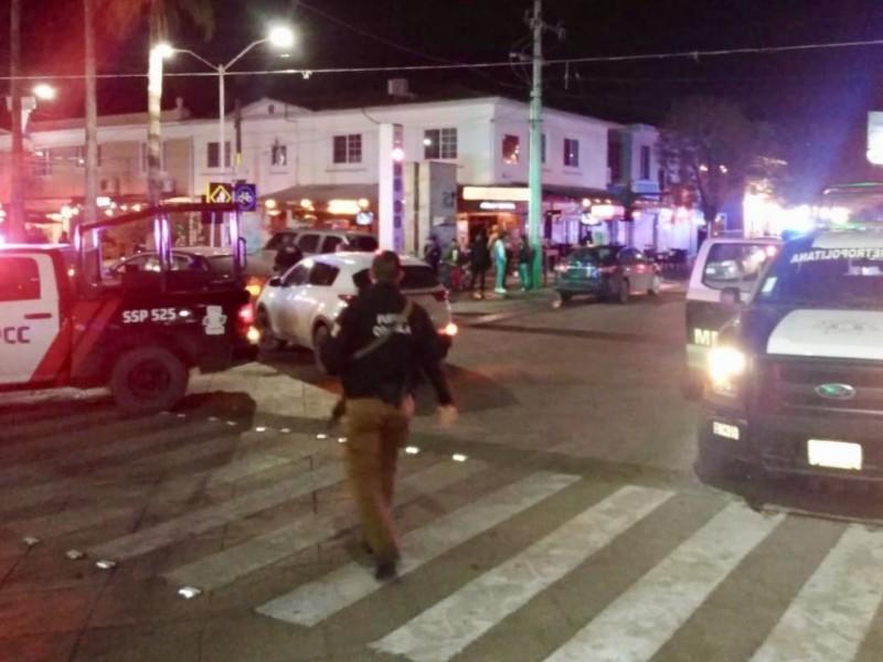 Robo de vehículo genera pánico en centro Torreón