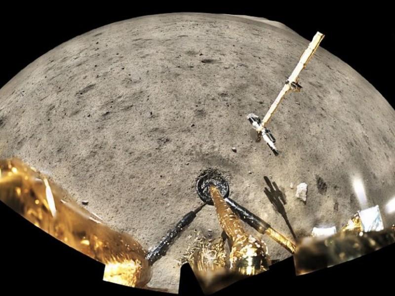 Rocas lunares traídas por china, tendrían 2000 millones de años