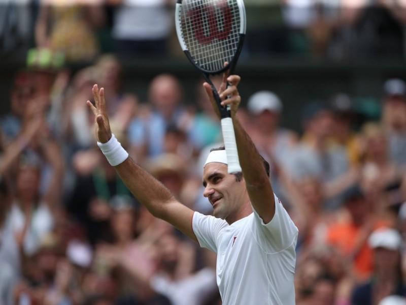 Roger Federer luce imparable