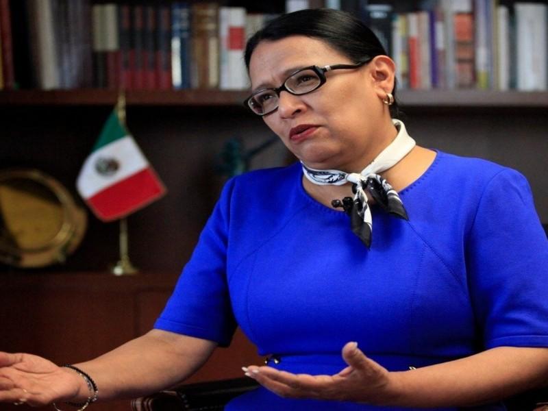 Rosa Icela Rodríguez sería la nueva secretaria de Seguridad Pública