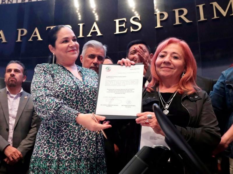Rosario Ibarra tomó protesta como titular de CNDH