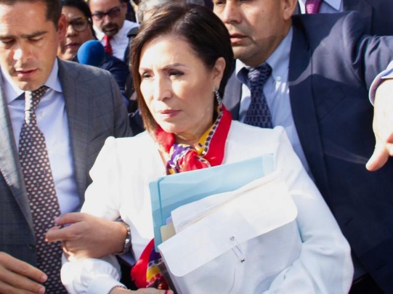 Rosario Robles recluida en penal de Santa Martha