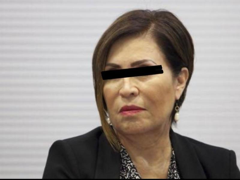 Rosario Robles se niega a pagar reparación del daño