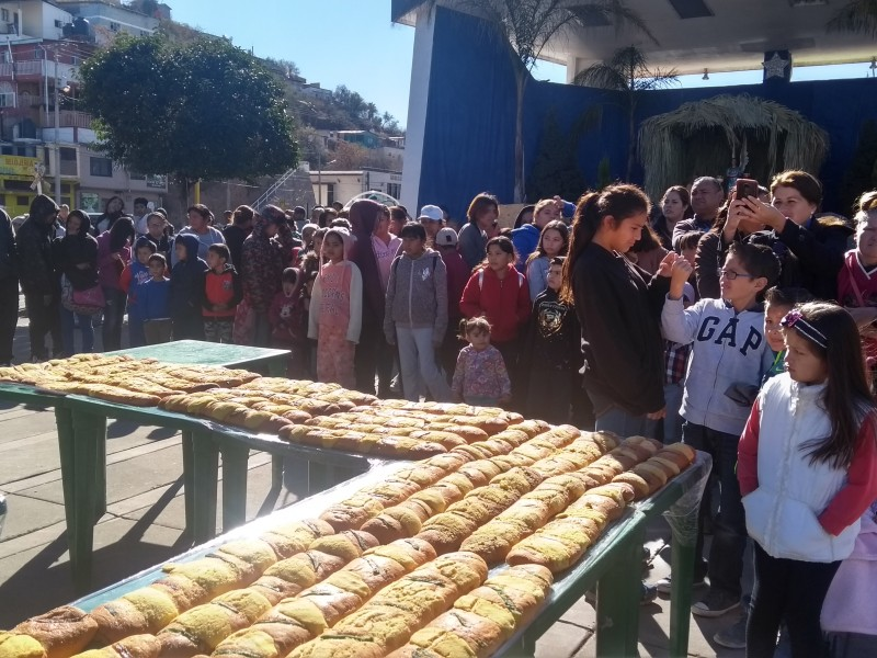 Rosca de Reyes más grande de Nogales,Sonora