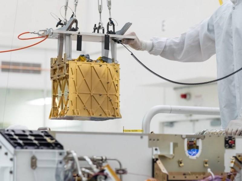 Róver Perseverance consigue extraer oxígeno de la atmósfera de Marte