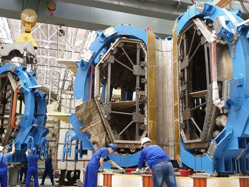 Rusia pone en marcha nuevo reactor nuclear