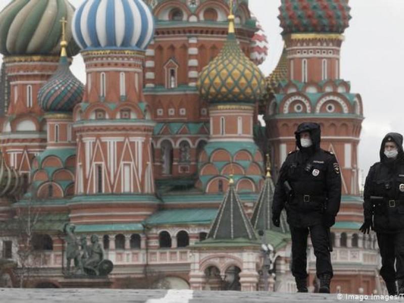 Rusia registra casi 16 mil casos Covid-19 en 24 horas