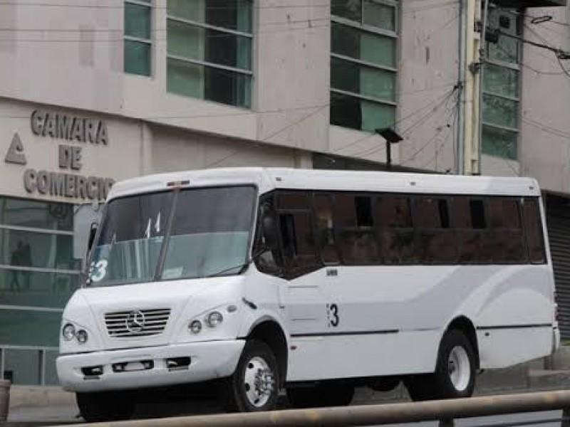 Ruta 3 dará servicio a colonia Francisco Herrera