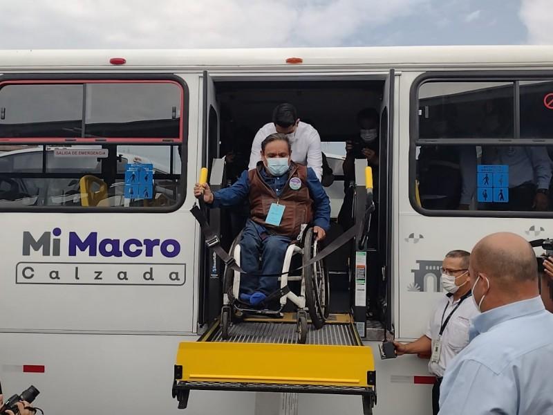 Rutas alimentadoras de Macrobús estrenan unidades