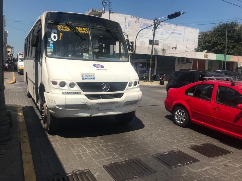 Rutas de camiones tendrán cambios por cierre de vialidades