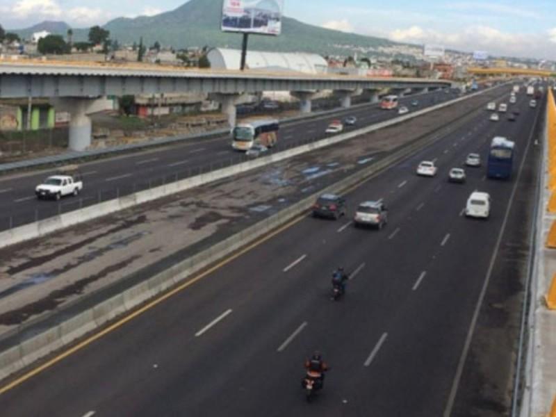 Sábado 2 de octubre cerrarán completamente la México-Puebla