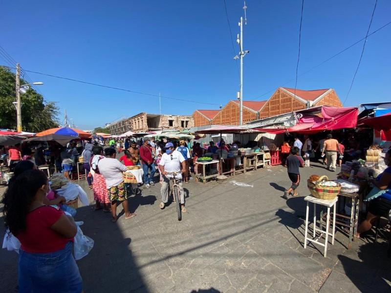 Sábados y domingos cerrarán comercios en Juchitán