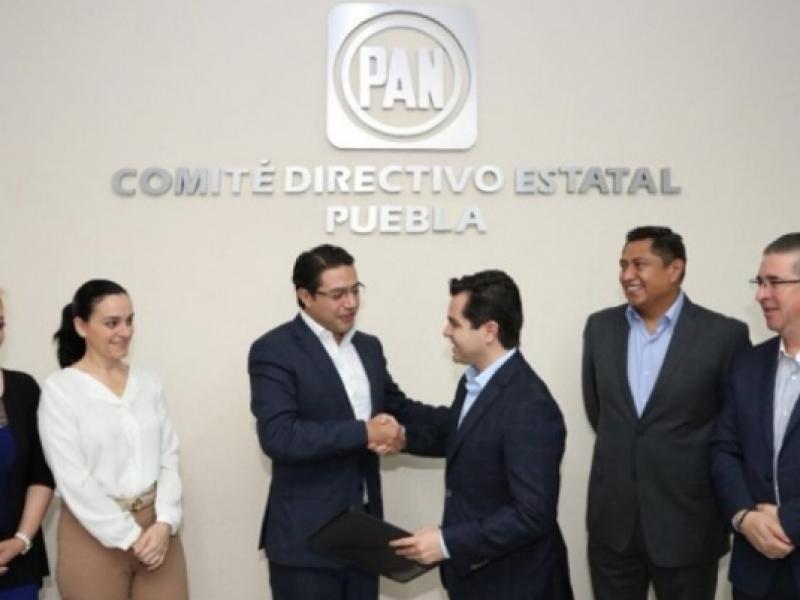 Separan a Marcelo García, de coordinación de GPPAN