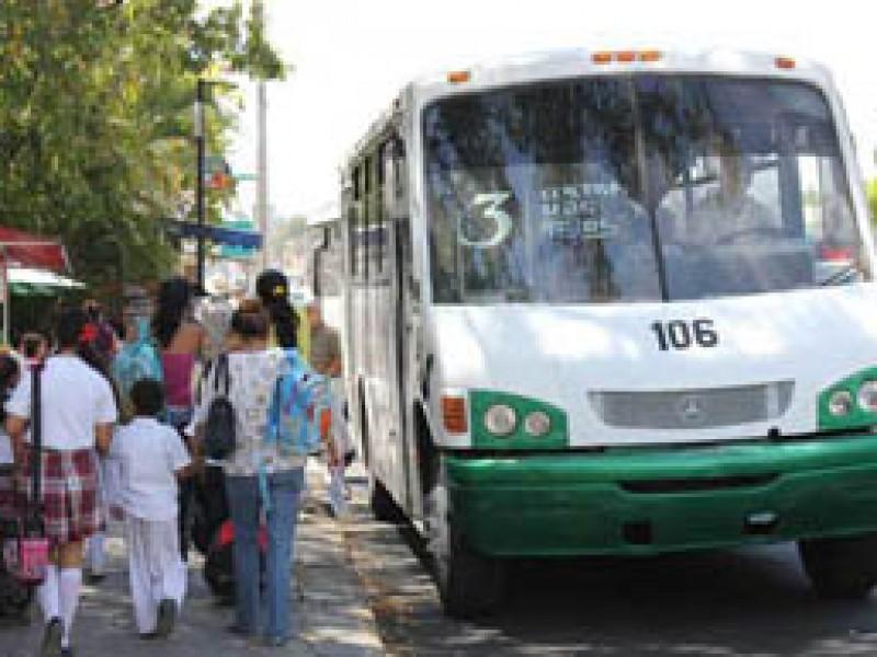 Sacan de circulación  rutas en Colima Villa de Alvarez