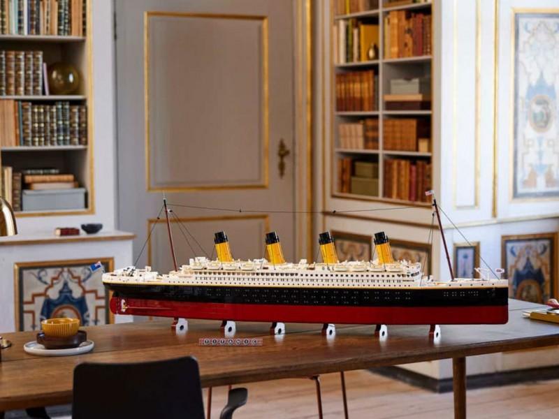 Sacan reproducción del Titanic, con más de 9 mil piezas