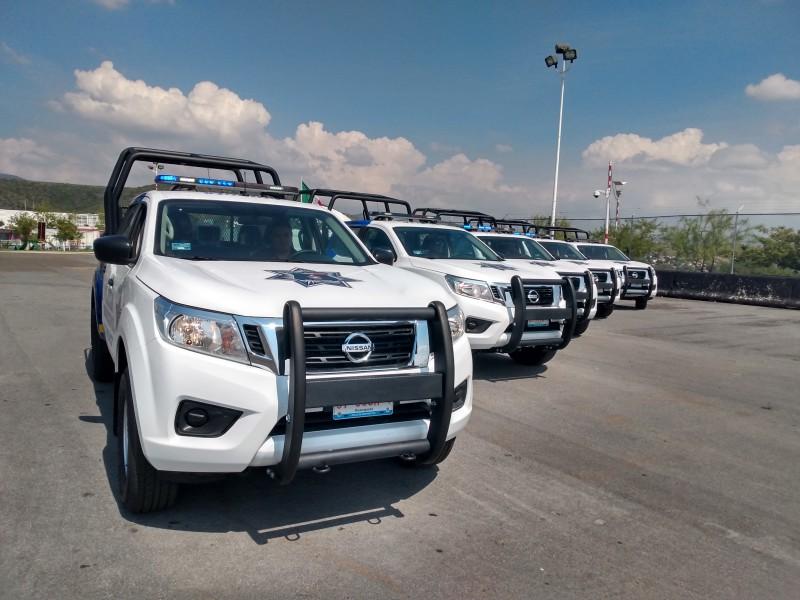 Salamanca recibe sus primeras 5 patrullas