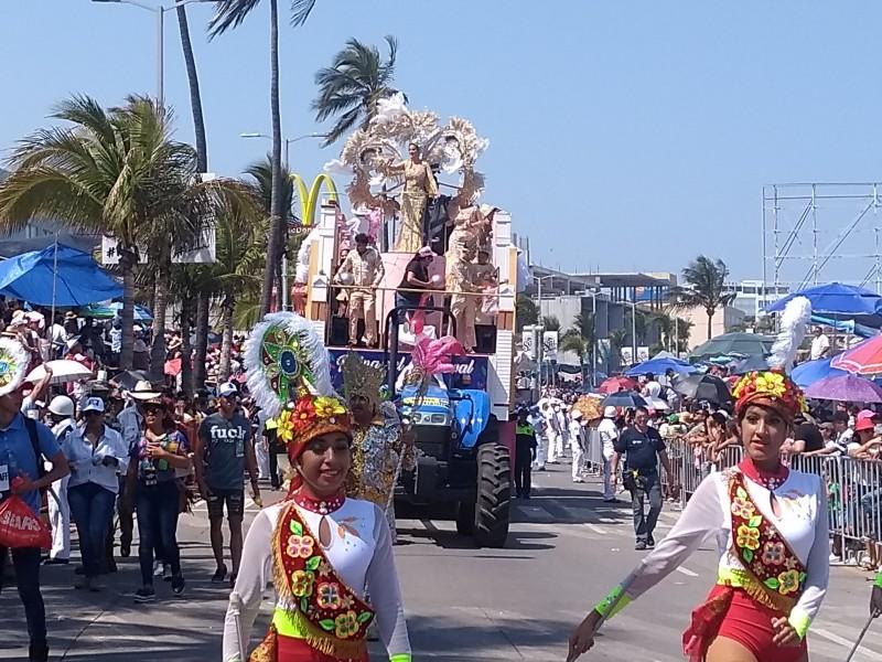 Saldo blanco por Carnaval en Veracruz