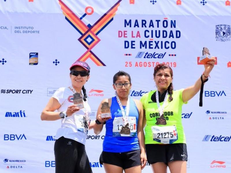 Saldo blanco tras maratón de la CDMX