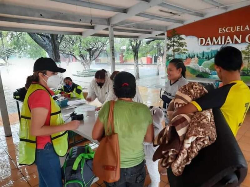 Al menos 167 personas evacuadas, saldo Tormenta Tropical Dolores