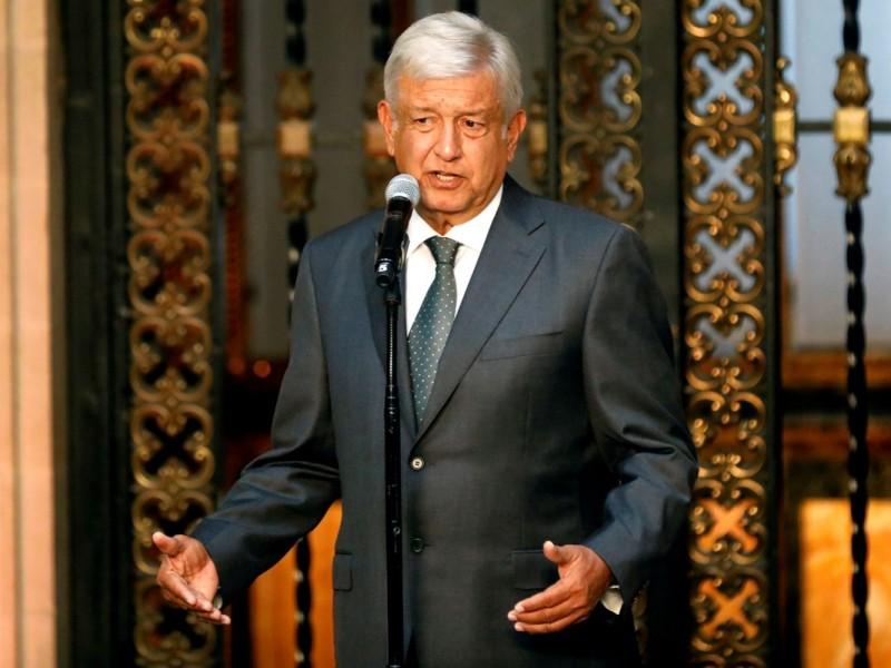 Sale López Obrador de Palacio Nacional