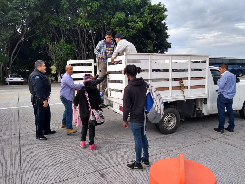 Salen migrantes de Guadalajara hacia EUA