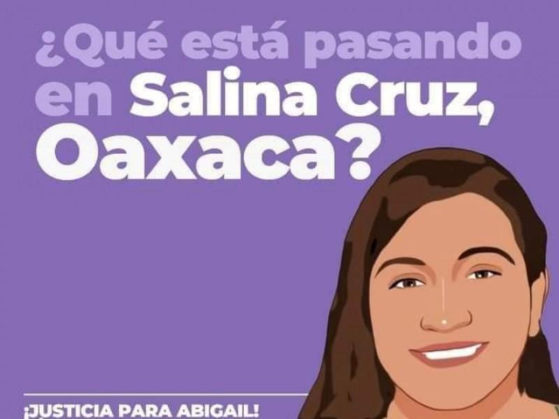 Salina Cruz está de luto, ¡justica para Guadalupe Abigail!