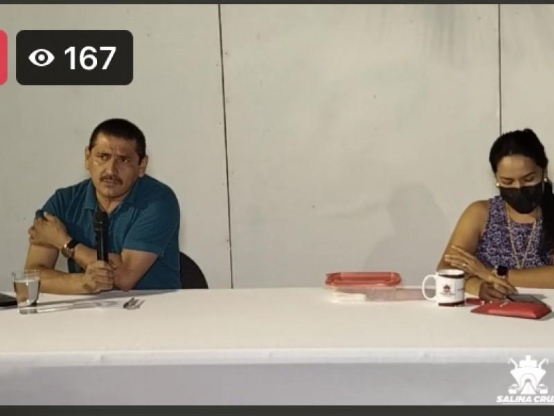 Salina Cruz permanecerá en semáforo rojo una semana más