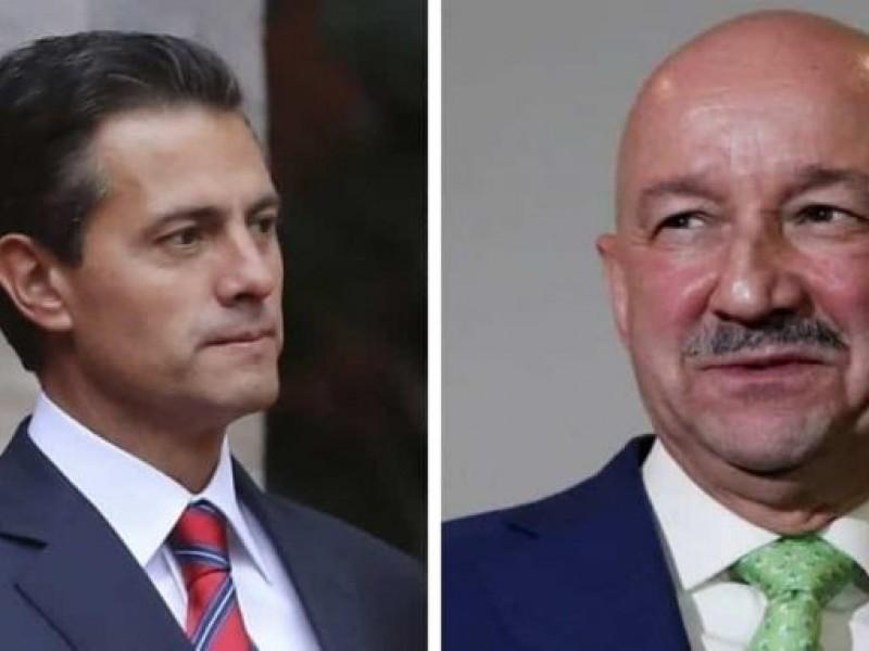 Salinas, Calderón y Peña, podrían ser juzgados: AMLO