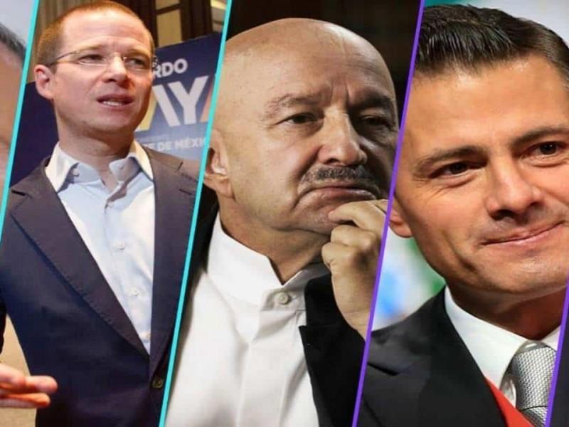 ¿Salinas, Peña Nieto, Calderón y Anaya tras las rejas?