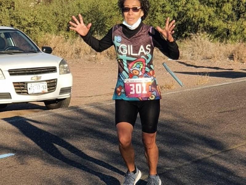 Samaly López rompe récord personal en ultramaratón