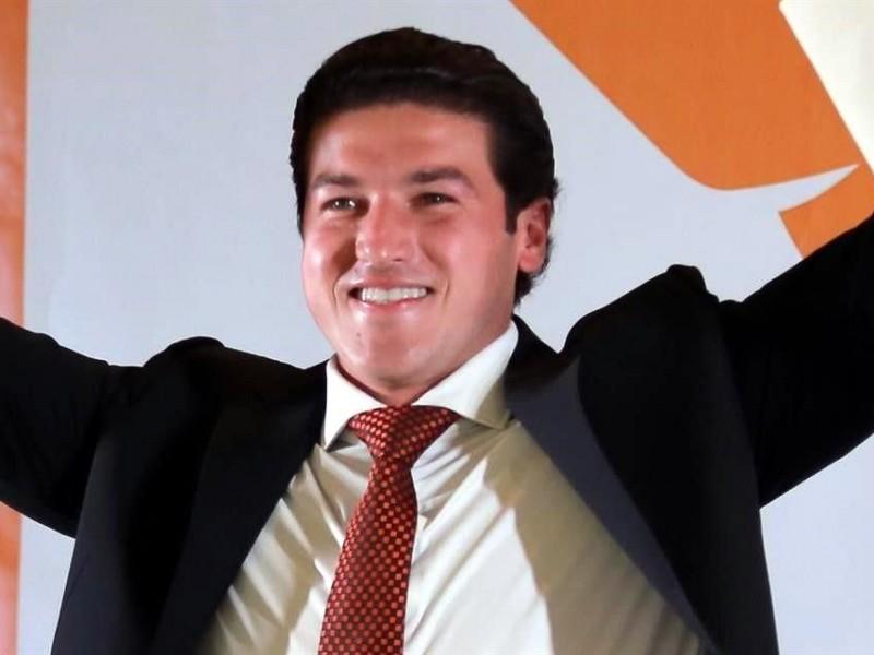 Samuel García celebrará hoy su virtual triunfo en Nuevo León