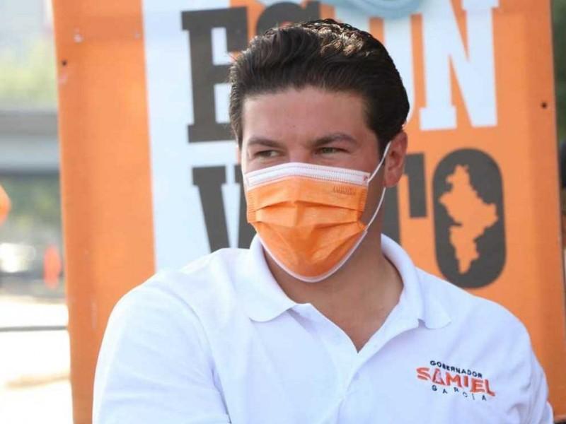Samuel García responde a acusaciones de Adrián de la Garza