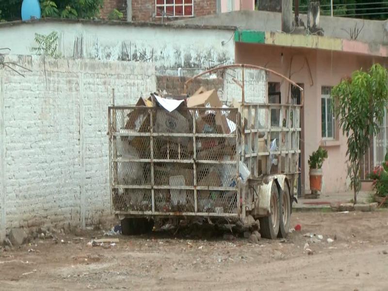 San Miguel sufre  deficiente recolección de basura