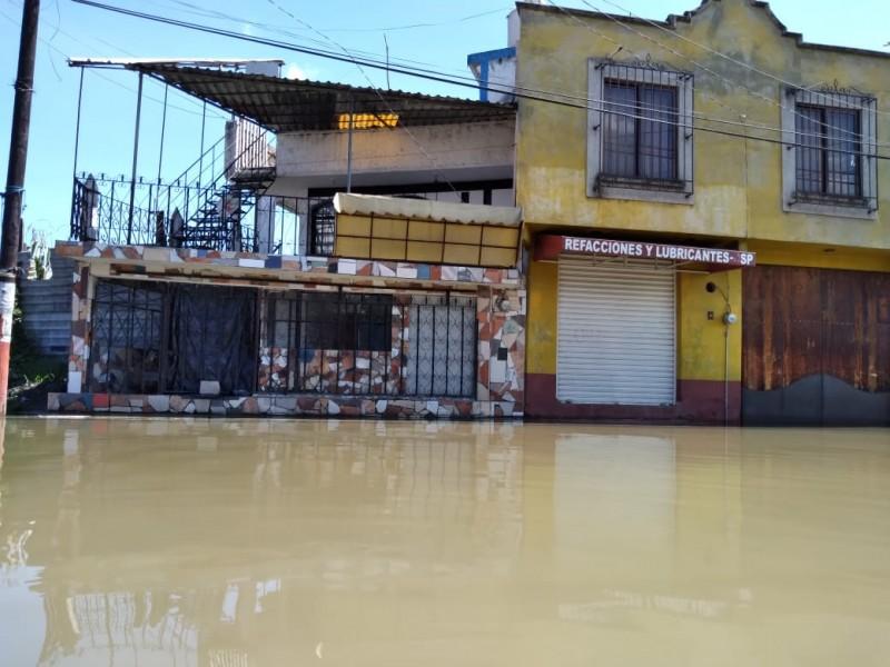 San Pedro Cholula más de 15 días bajo el agua