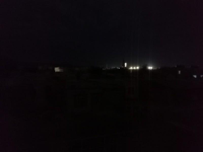 San Pedro; reportó apagón eléctrico durante la noche de lunes
