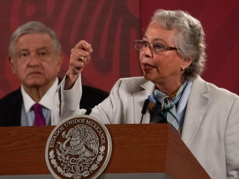 Sánchez Cordero celebra coordinación en captura de 'El Marro'