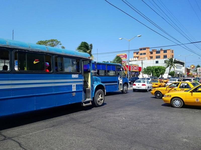 Sanción a transporte público por no acatar medidas sanitarias