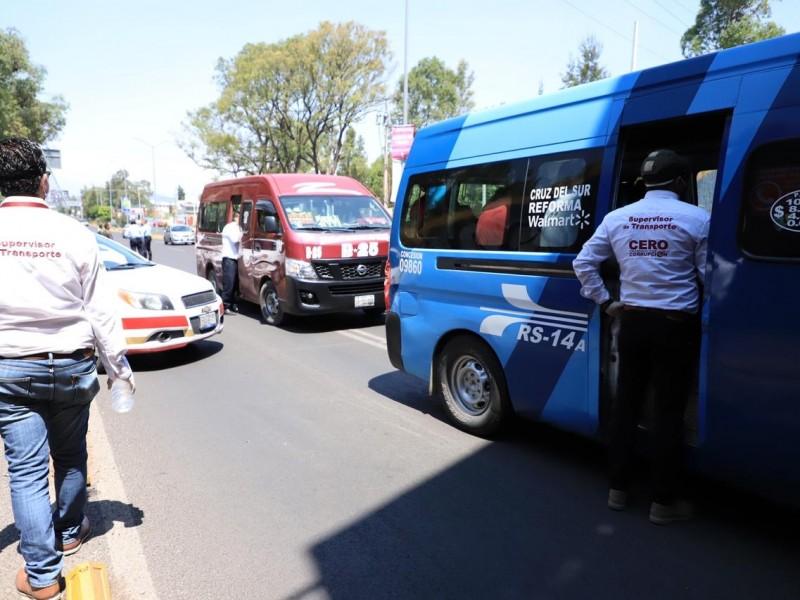 Sancionan a 100 unidades por no cumplir la #SanaDistancia