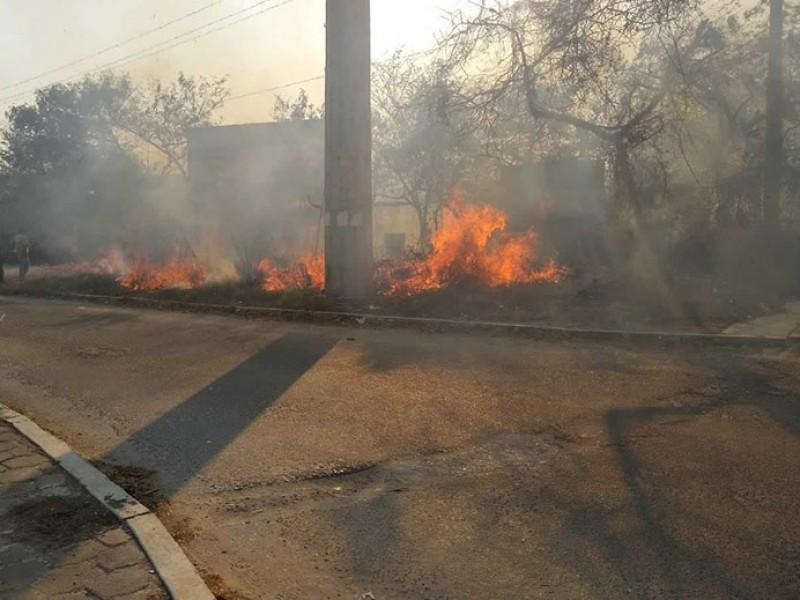 Sanciones ejemplares para quien provoque incendios