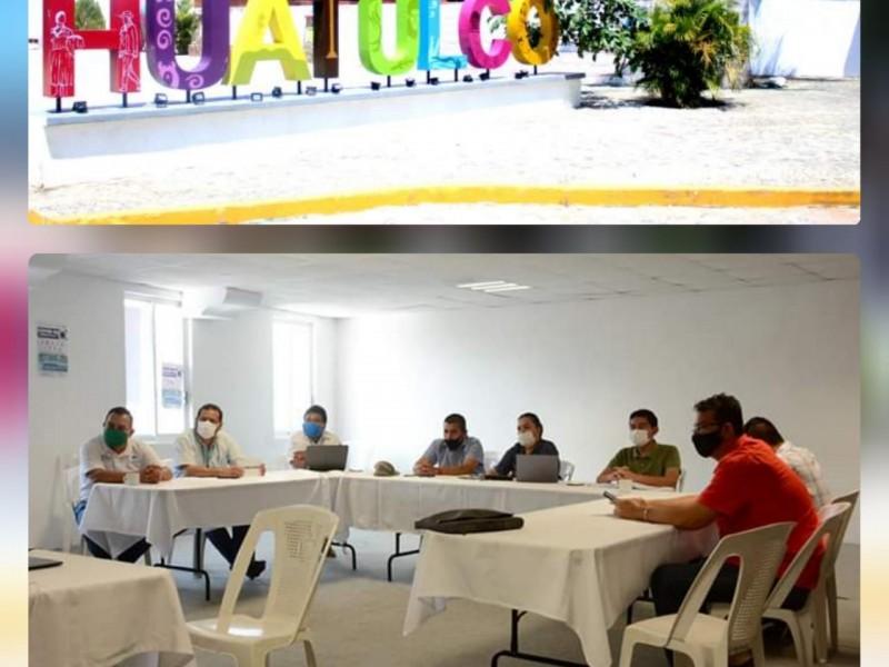 Santa María Huatulco prepara reinicio de actividades comerciales en junio