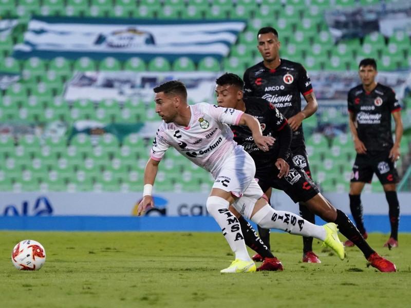 Santos liga tercera victoria consecutica