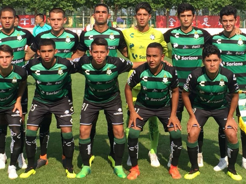 Santos Sub 20 invicto en Copa Internacional China