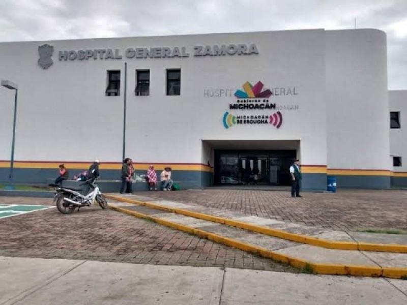 Saturados hospitales públicos de la región Zamora por COVID-19