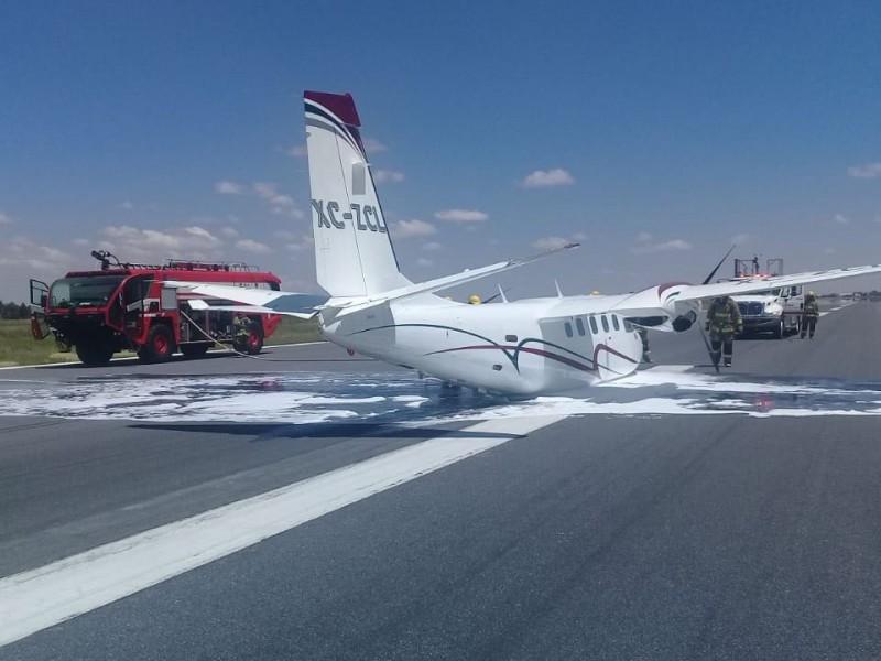 Se accidenta avión, viajaba esposa del gobernador zacatecano