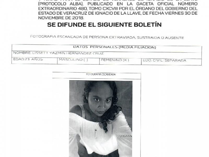 Se activa Protocolo Alba en Veracruz para localizar a joven