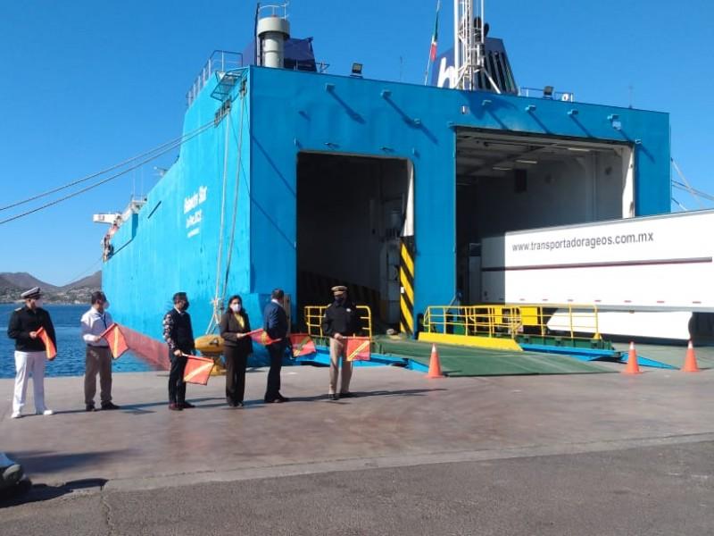 Se activa ruta en Ferry Guaymas-Santa Rosalía